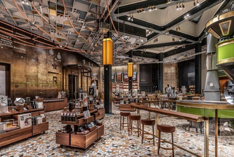 Starbucks Reserve Roastery Milan opens in Milan