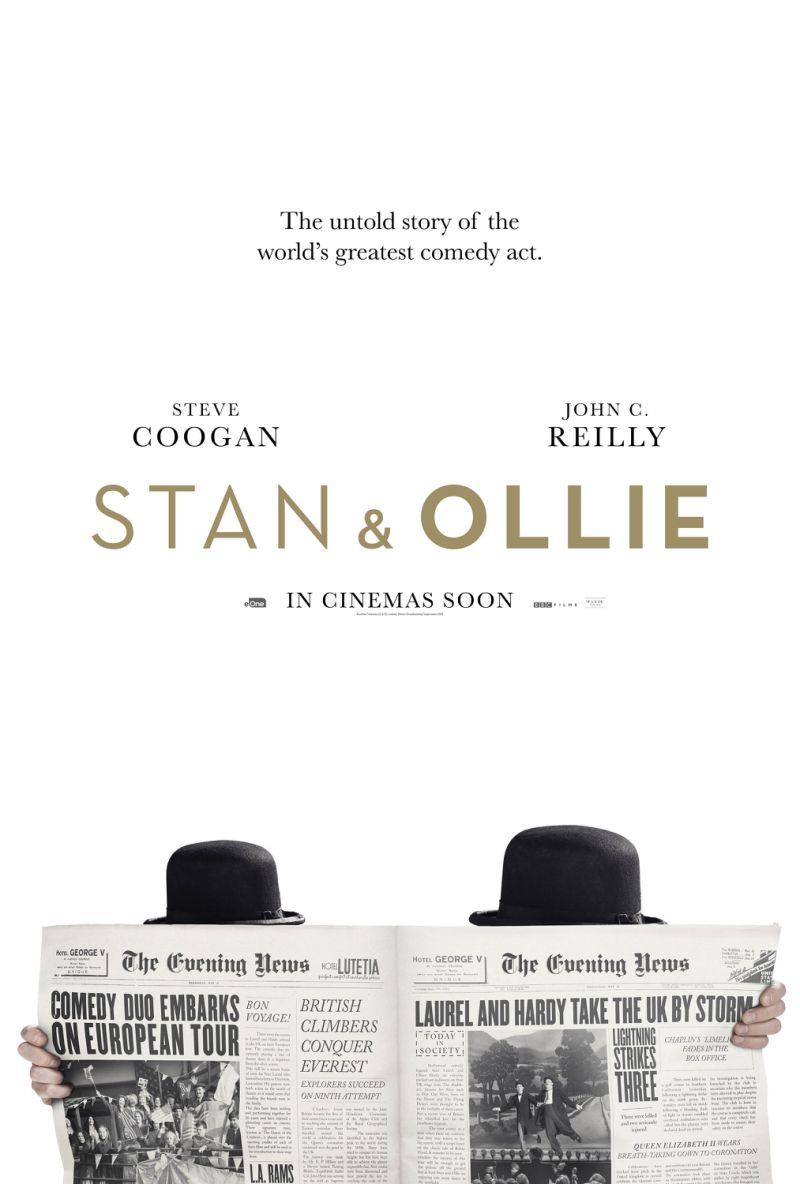 il primo trailer del nuovo biophic su Stanlio e Ollio | Collater.al 1