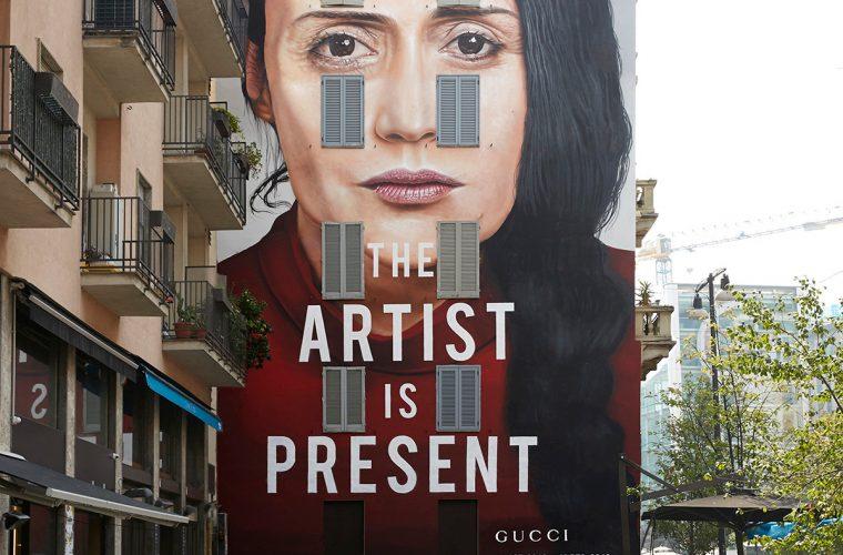 The Artist is Present, gli ultimi Art Wall di Gucci