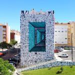 Astro Odv Cbs crea pazzeschi portali geometrici in large scale   Collater.al