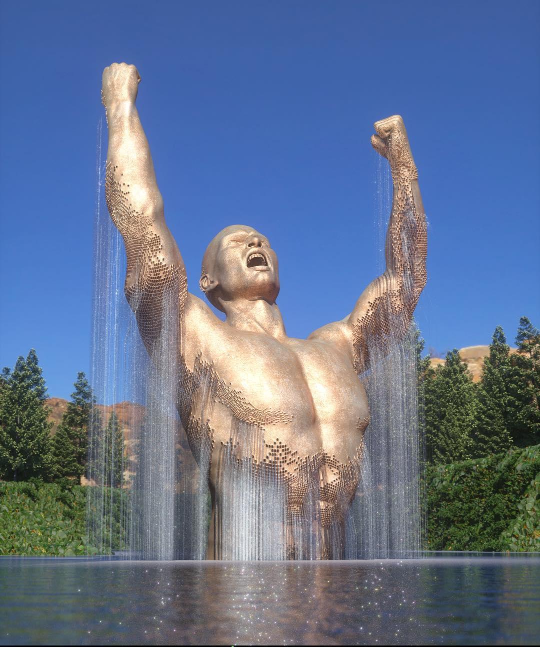Chad Knight's digital art creates huge digital sculptures | Collater.al