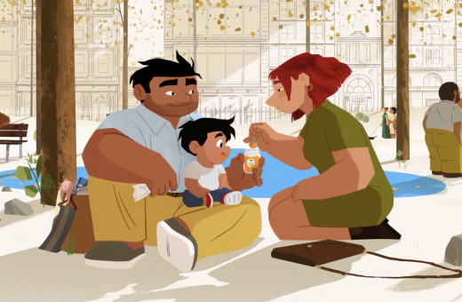 FirstFamily, when the animation is the best way to advertise