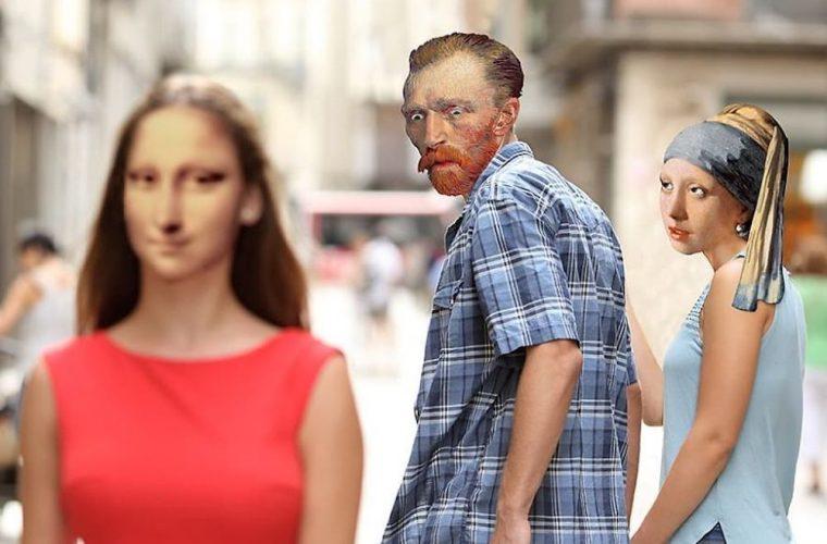 Photoshop incontra Van Gogh nei lavori di Hayatinin Evreni