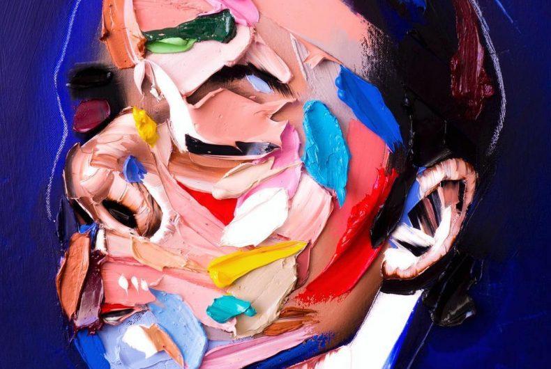 I ritratti pop tridimensionali di Joseph Lee