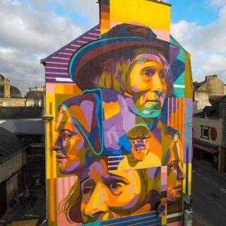 Il realismo colorato della street art di Dourone   Collater.al