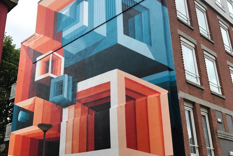 Three-dimensional optical illusions, Mr. June's street art