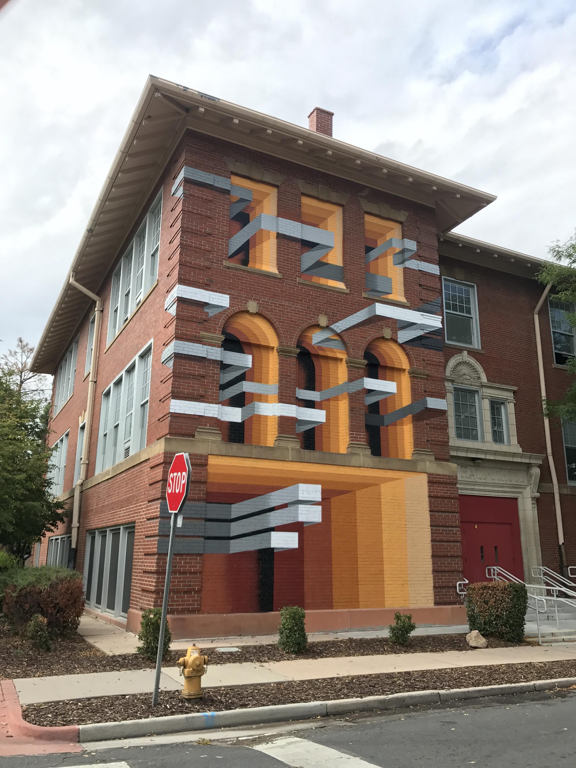 Illusioni ottiche tridimensionali, la street art di Mr. June   Collater.al
