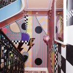 La scalinata dai colori psichedelici firmata Sasha Bikoff | Collater.al 10