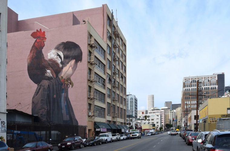 Con la street art di Sainer, la città diventa un museo a cielo aperto