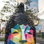 Le coloratissime sculture di Okuda San Miguel a Boston | Collater.al 3