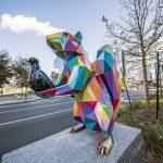 Le coloratissime sculture di Okuda San Miguel a Boston | Collater.al 4