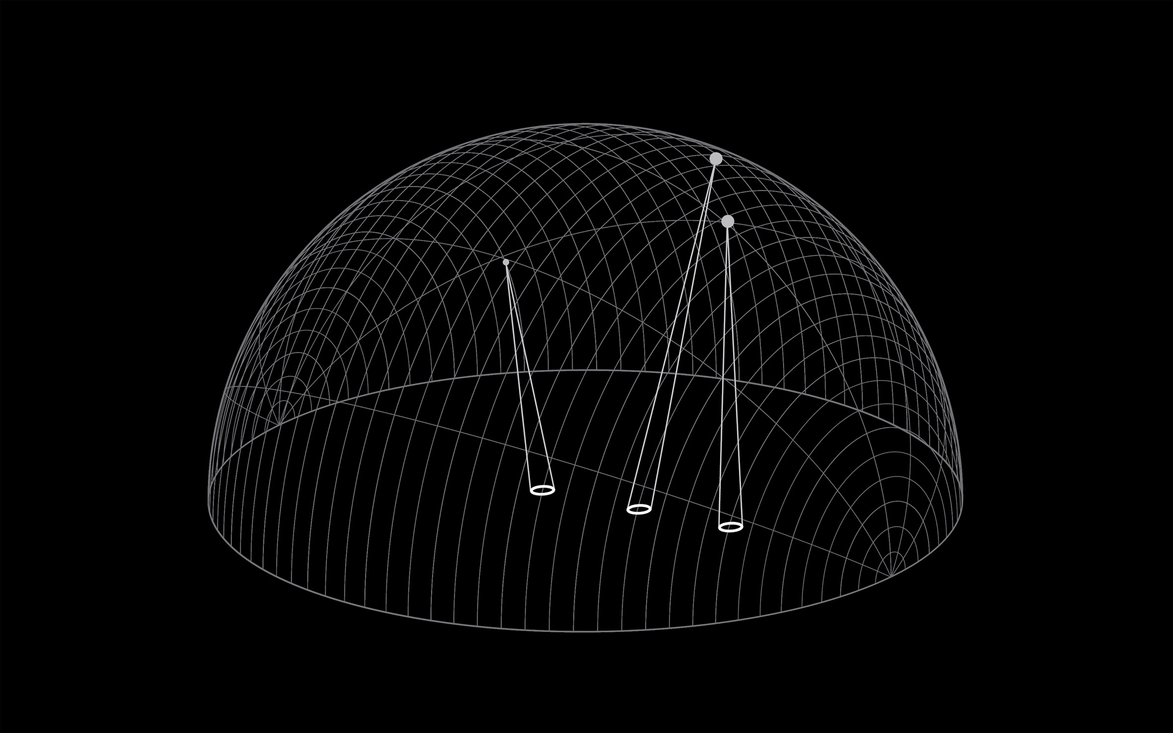 L'installazione di Daan Roosegaarde traccia i rifiuti spaziali| Collater.al