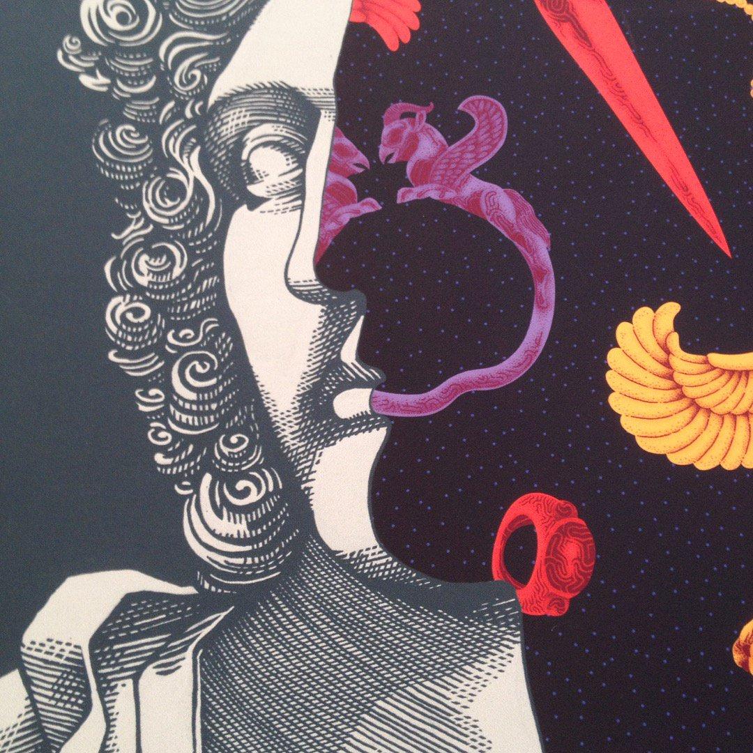 Lo stile inconfondibile dell'illustratore Marcello Crescenzi | Collater.al