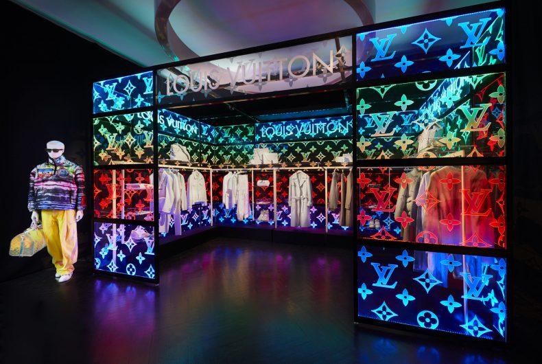 Il pop-up store di Louis Vuitton per collezione di Virgil Abloh