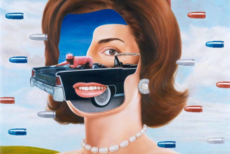 MonuMental, la provocatoria serie di quadri di Saint Hoax