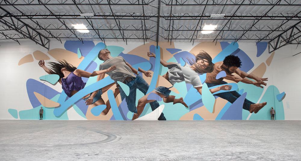 Scene in movimento, la street art di James Bullough | Collater.al