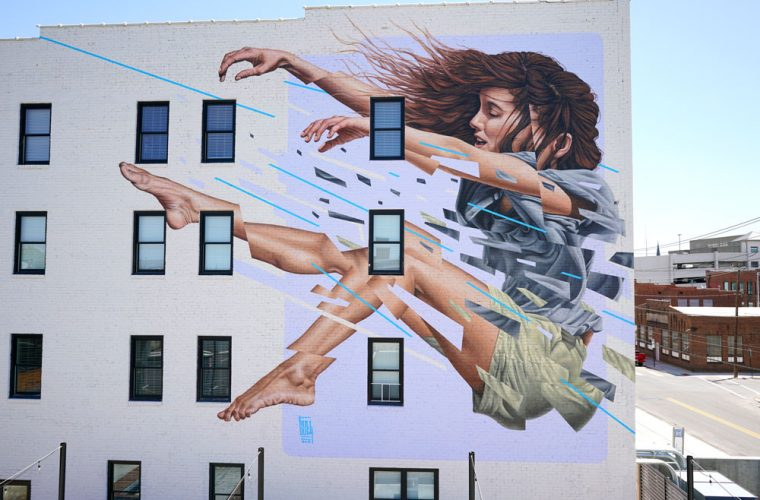 Scene in movimento, la street art di James Bullough