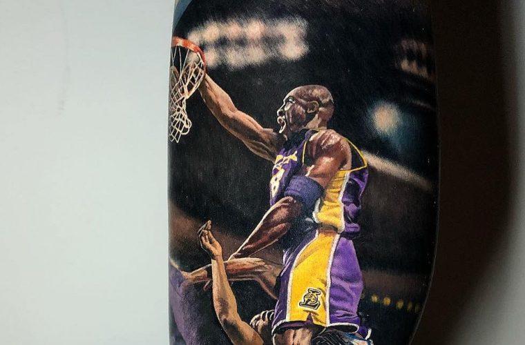 I campioni dell'NBA nei tatuaggi iperrealistici di Steve Butcher