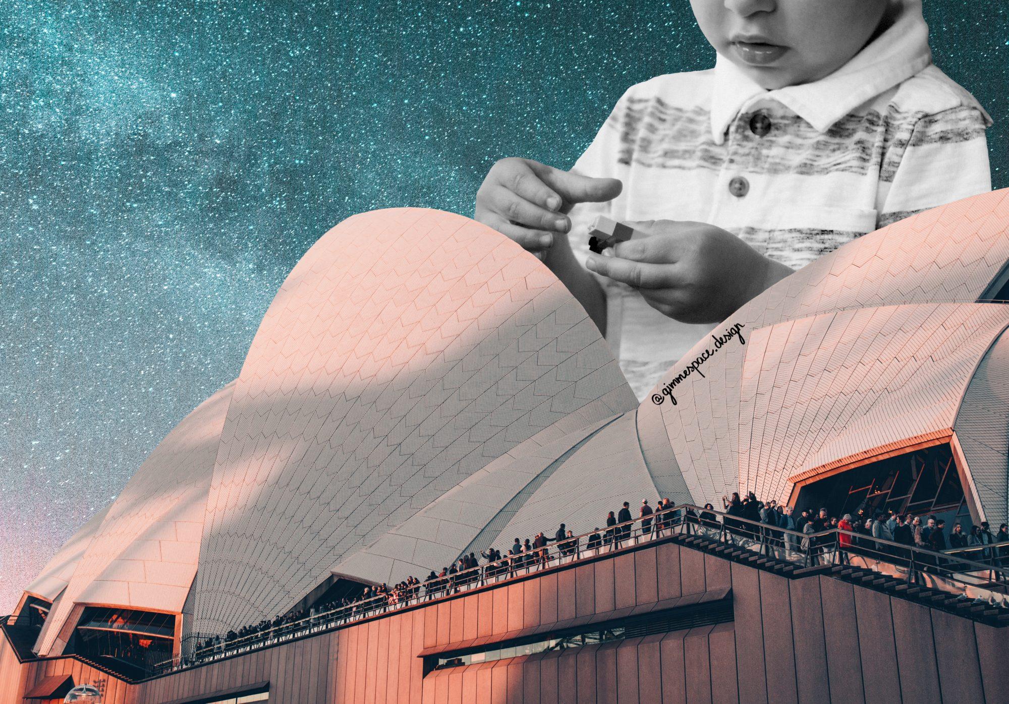Vanessa Ly con i suoi collage ti porta nello spazio (e oltre) | Collater.al 5