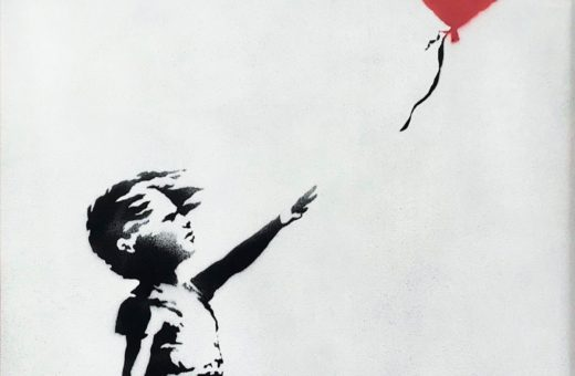 Sold for a million pounds, Banksy's painting self-destructs