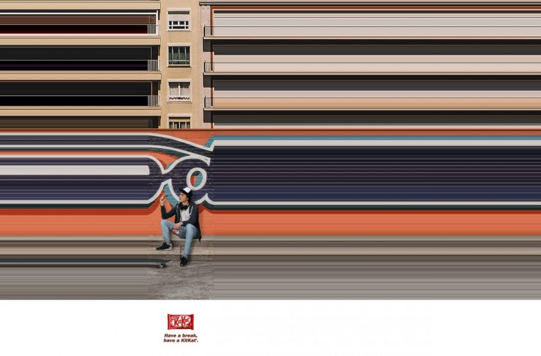 Break the Speed, la campagna Kit Kat che ci invita a fare una pausa