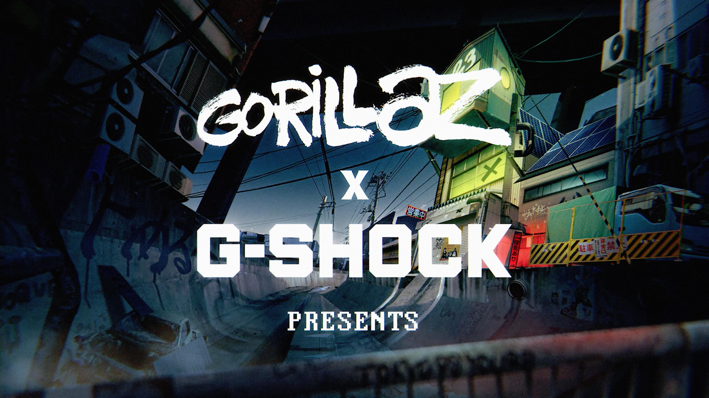 gorillaz x g shock | Collater.al