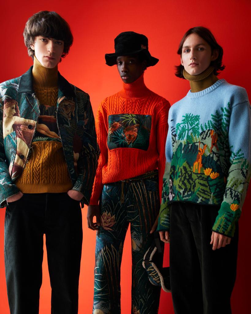 la collezione autunno inverno di Kenzo Memento n 3 come uscita da un quadro di Rousseau | Collater.al 1