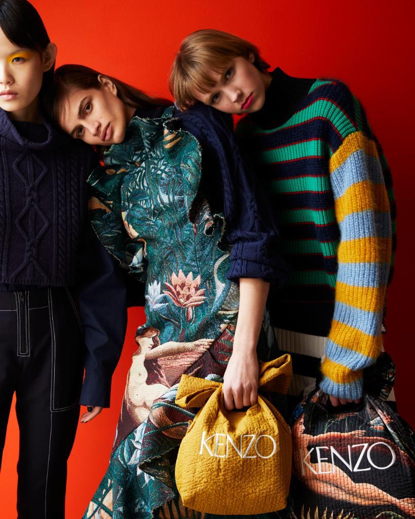 la collezione autunno inverno di Kenzo Memento n 3 come uscita da un quadro di Rousseau | Collater.al 2