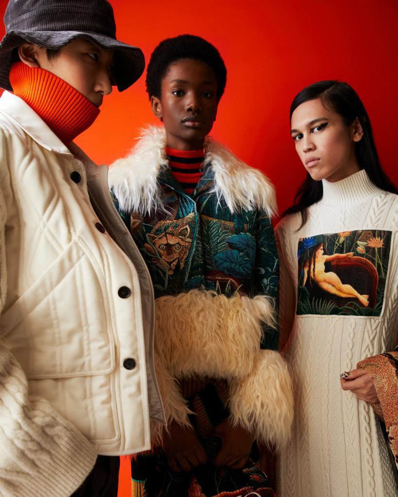 la collezione autunno inverno di Kenzo Memento n 3 come uscita da un quadro di Rousseau | Collater.al 7