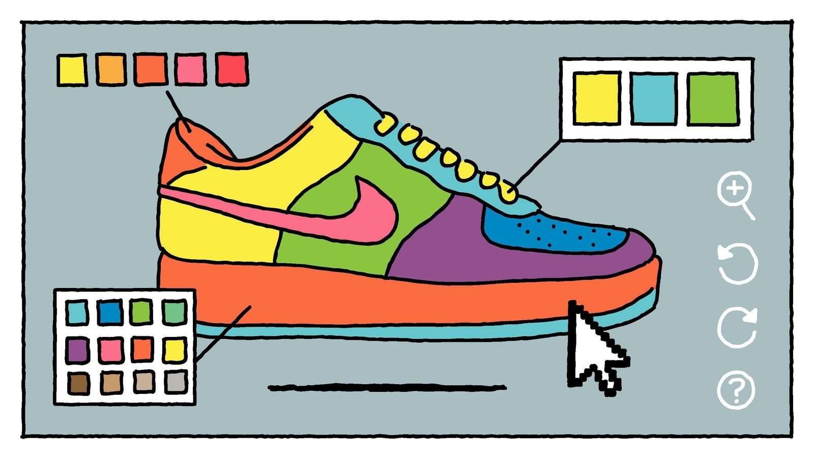 Relativo Género Imperio Inca  12 illustrations tell the story of Nike Air Force 1 | Collateral