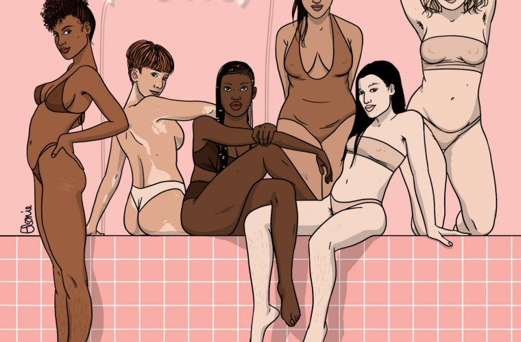 Elonie Lopes illustrates the sensuality of the female body