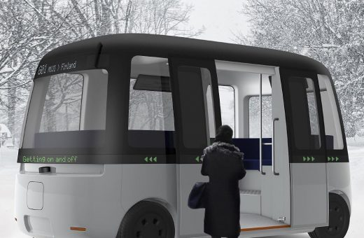 Gacha, il bus di Muji adatto a qualsiasi condizione atmosferica