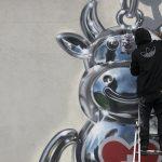 I murales cromati tridimensionali di Fanakapan | Collater.al 1