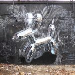 I murales cromati tridimensionali di Fanakapan | Collater.al 4