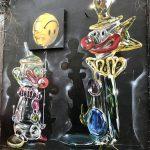 I murales cromati tridimensionali di Fanakapan | Collater.al4