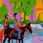 I quadri pop art coloratissimi di Jean Paul Langlois | Collater.al 11
