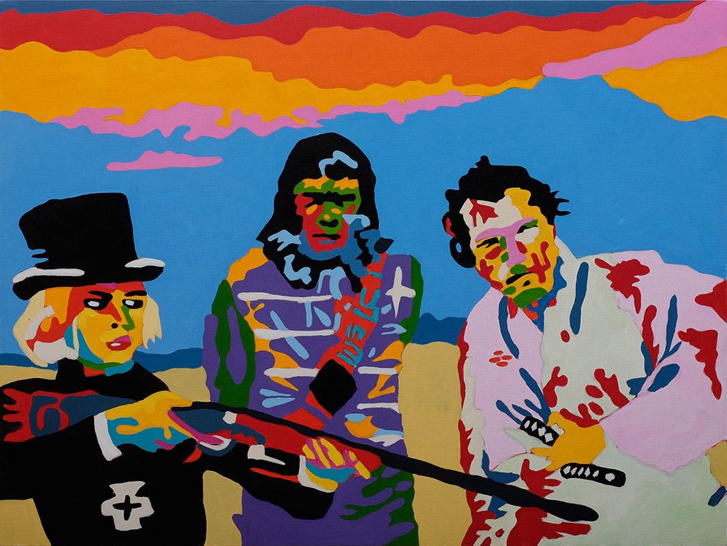 I quadri pop art coloratissimi di Jean Paul Langlois   Collater.al