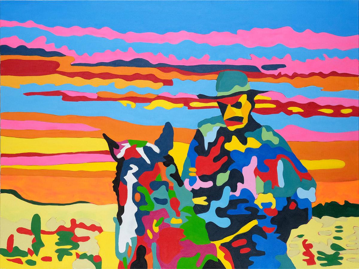 I quadri pop art coloratissimi di Jean Paul Langlois | Collater.al