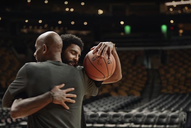 Il commovente spot di Nike con Kyrie Irving e suo padre