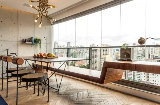 Il restyling dell'Apartment RZ a San Paolo firmato Mona Singal