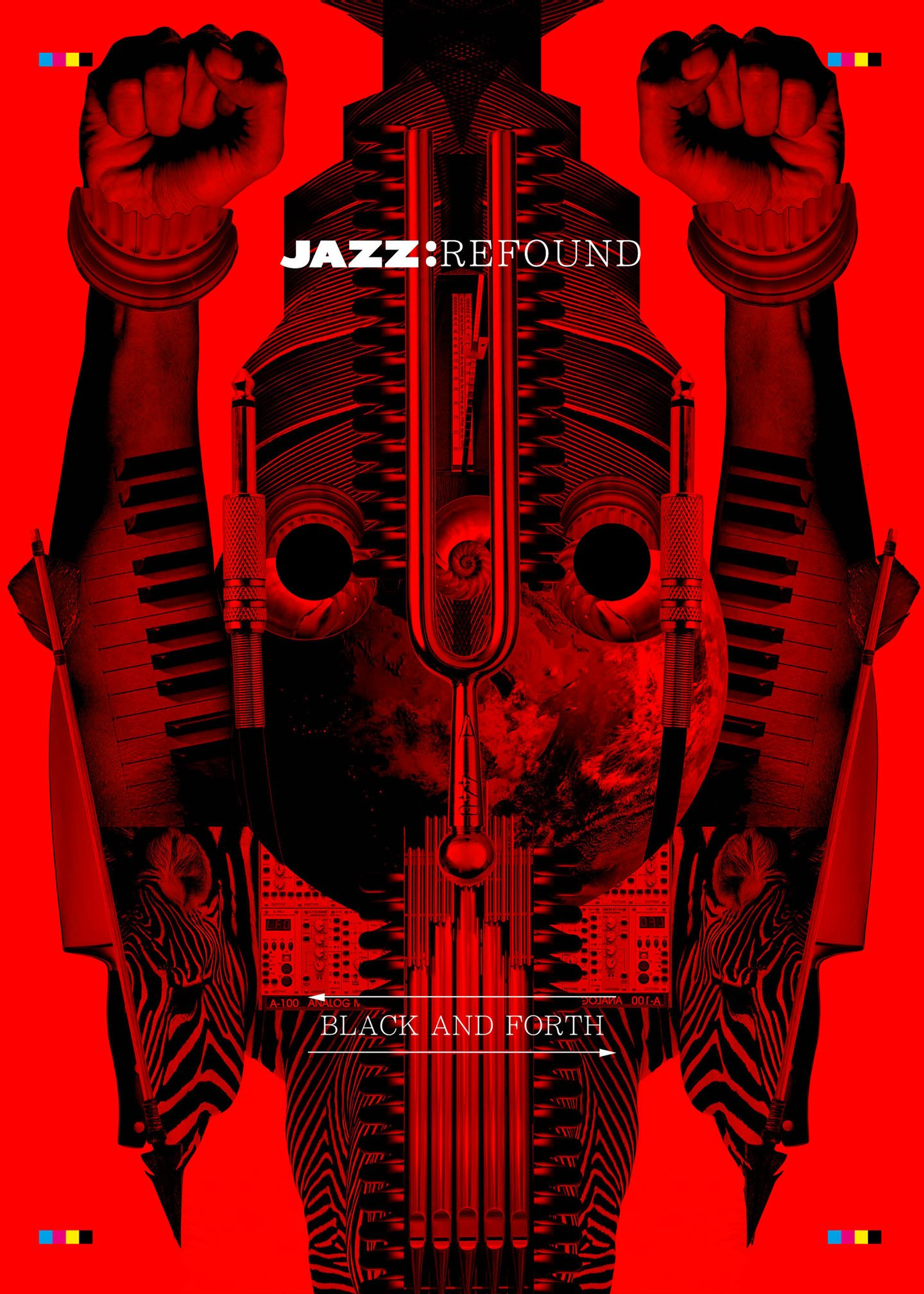 Jazz Re Found Black & Forth Weekender | Collater.al