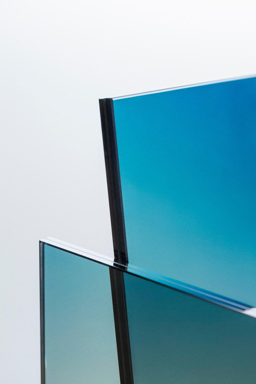 La Ombré Glass Chair di German Ermics | Collater.al