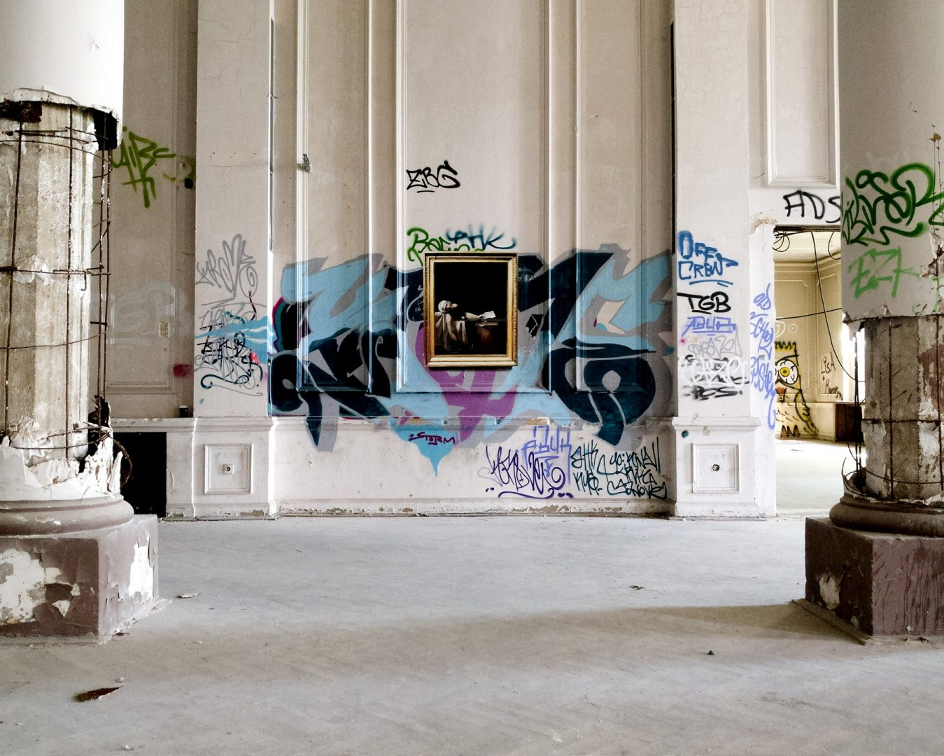 La strada è il nuovo museo: i quadri di Julio Anaya Cabanding