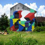 La street art di Murone, un'armonia di colori e forme| Collater.al 11