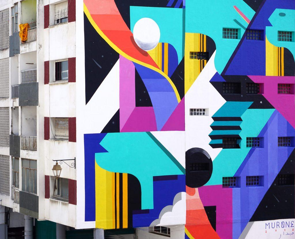 La street art di Murone, un'armonia di colori e forme| Collater.al