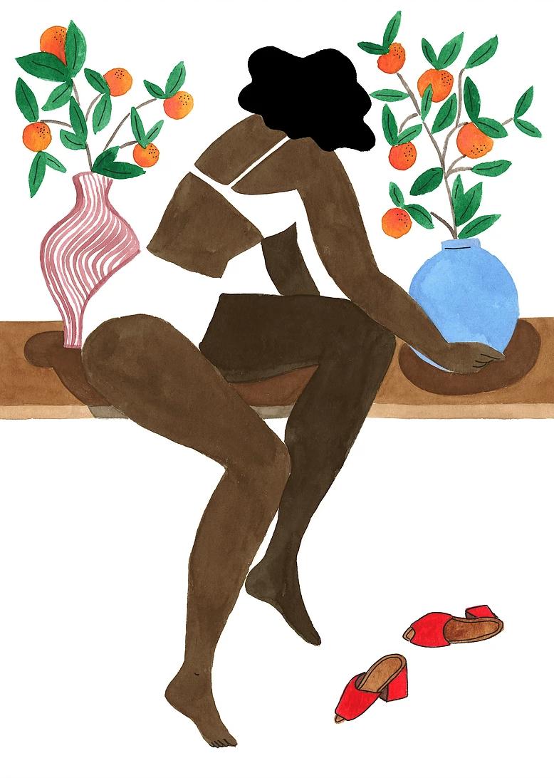 Le illustrazioni esotiche diIsabelle Feliu: tra Matisse e Gauguin | Collater.al