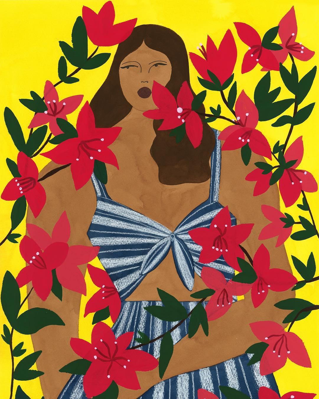 Le illustrazioni esotiche diIsabelle Feliu- tra Matisse e Gauguin | Collater.al 1