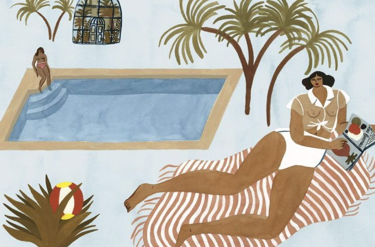 Isabelle Feliu's exotic illustrations: from Matisse to Gauguin