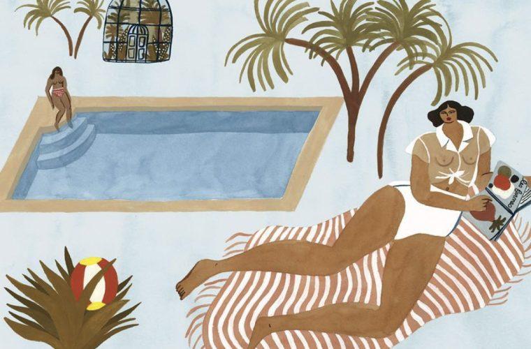 Le illustrazioni esotiche diIsabelle Feliu: tra Matisse e Gauguin