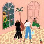 Le illustrazioni esotiche diIsabelle Feliu- tra Matisse e Gauguin | Collater.al 6